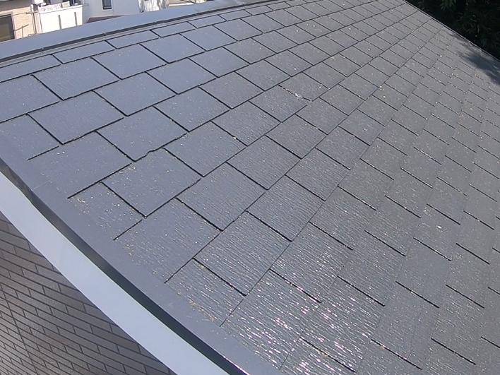 横浜市港南区H様邸サーモアイSi屋根塗装施工後画像