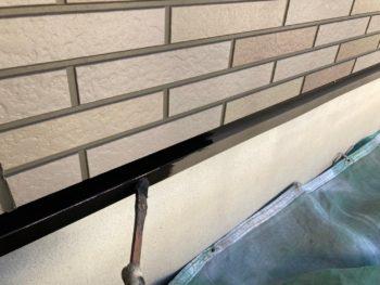 横浜市港南区H様邸水切り塗り替え事例