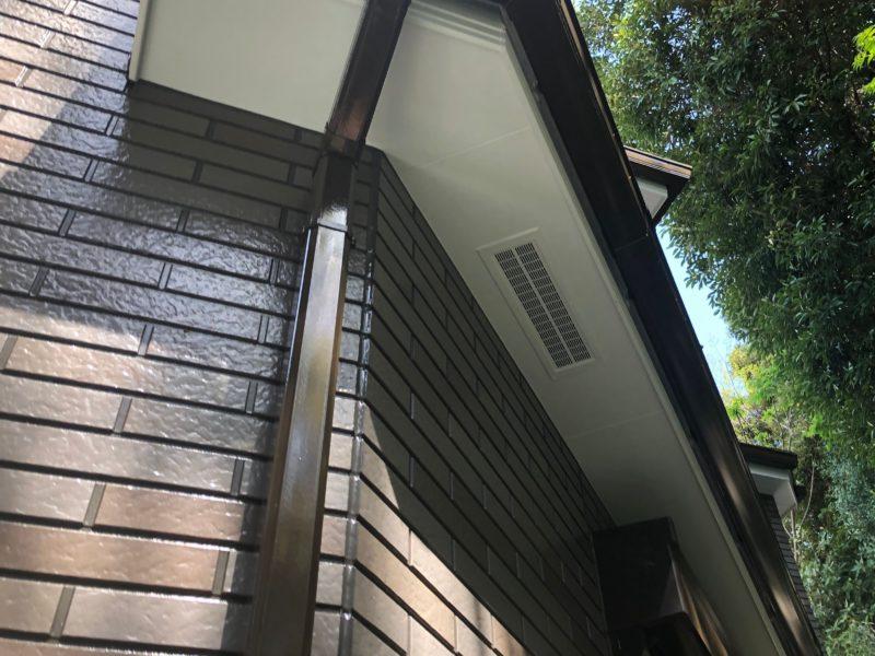 横浜市港南区H様邸UVプロテクトクリアー外壁塗装施工後画像