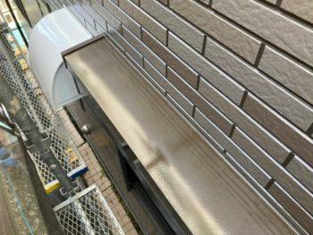 横浜市港南区H様邸シャッターボックス塗り替え事例