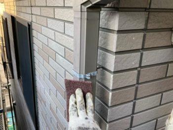 横浜市港南区H様邸雨樋塗り替え施工事例画像