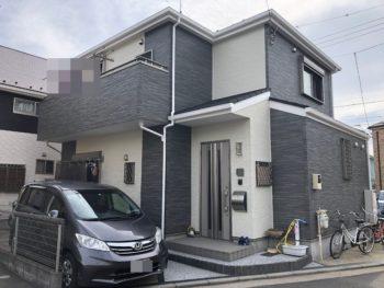 横浜市金沢区 A 様邸 パーフェクトトップ外壁塗装