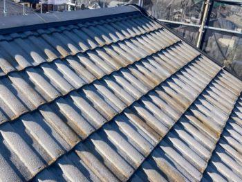 横浜市栄区W様邸屋根塗り替え前