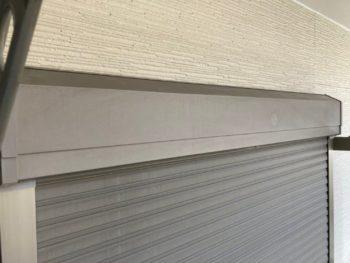 横浜市金沢区A様邸シャッターボックス塗り替え前