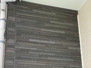 横浜市金沢区A様邸タイル調外壁塗り替え前
