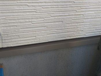 横浜市金沢区A様邸水切り塗装施工後