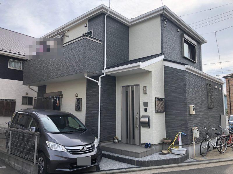 横浜市金沢区A様邸住宅塗り替え完了写真