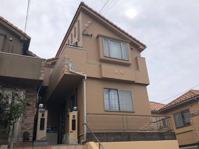 横浜市港南区O様邸パーフェクトセラミックトップG外壁塗装後画像