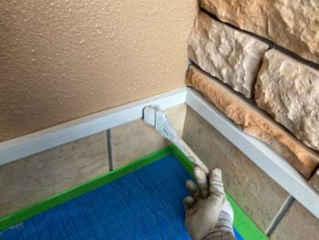 横浜市港南区O様邸付帯部塗り替え施工事例画像