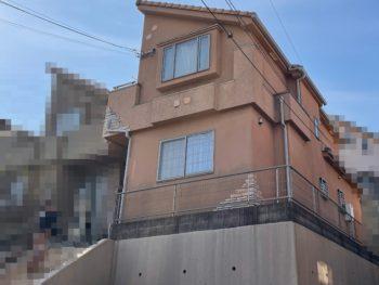 横浜市港南区O様邸パーフェクトセラミックトップG外壁塗装前画像