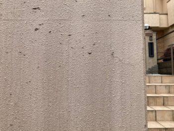横浜市港南区O様邸擁壁塗り替え前