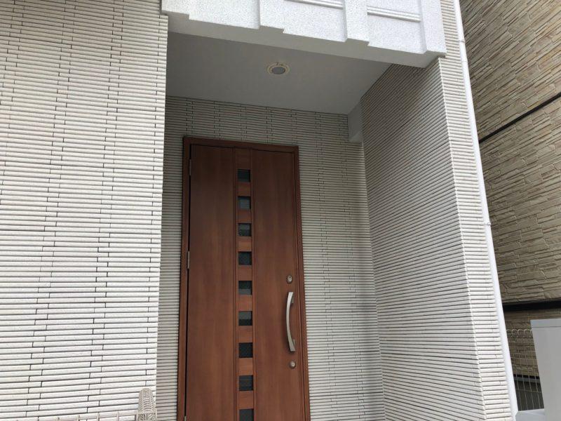 横浜市旭区K様邸ダイヤモンドコート外壁塗装施工後画像