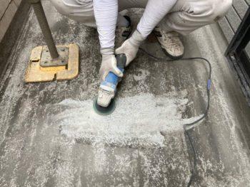 横浜市保土ヶ谷区H様邸ベランダ防水保護塗装施工事例写真