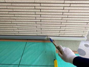 横浜市旭区K様邸付帯部塗り替え施工事例画像
