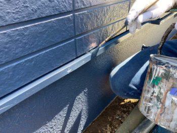 横浜市保土ヶ谷区H様邸水切り塗装施工事例画像