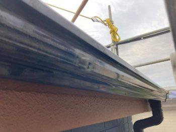 横浜市保土ヶ谷区H様邸雨樋塗り替え後