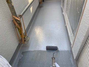 横浜市旭区K様邸ベランダ防水施工事例画像