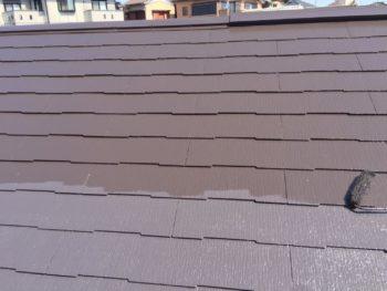 横浜市泉区W様邸サーモアイSi屋根塗装施工事例画像