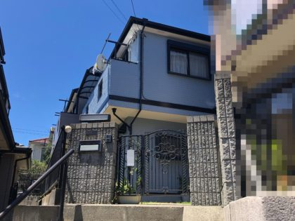 横浜市栄区 J 様邸 超低汚染リファインSi‐IR外壁塗装