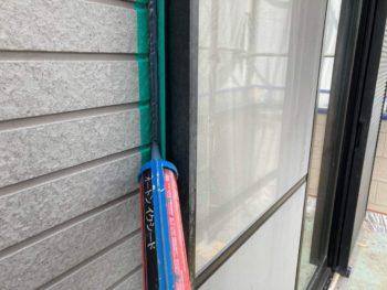 横浜市保土ヶ谷区H様邸入隅シーリング打ち替え施工事例画像