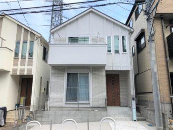 横浜市旭区 K 様邸 ダイヤモンドコート外壁塗装