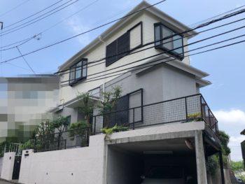 横浜市栄区 K 様邸 超低汚染リファインSi‐IR外壁塗装
