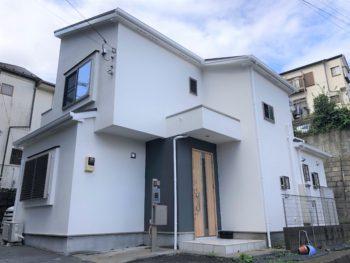 横浜市磯子区 G 様邸 パーフェクトセラミックトップG 外壁塗装
