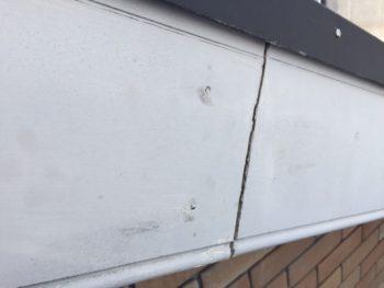 横浜市港南区M様邸破風塗装施工前