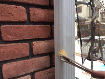 横浜市港南区M様邸雨樋塗装施工事例